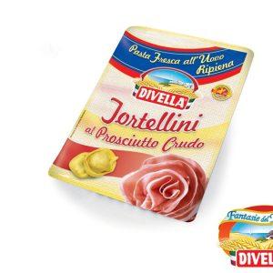 DIVELLA FRESH TORTELINI ME PROSHUTE 250 GR (10)(MT025)