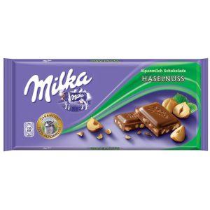 MILKA HAZELNUTS 80GR (20)(SM04715)