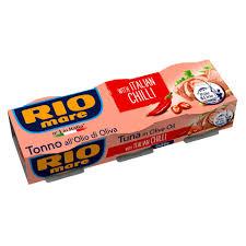 RIO MARE TON ME VAJ PIKANTE 3X80GR