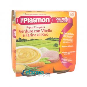 PLASMON PURE VICI ME PERIME &MIELL ORIZI 6 MUAJ 2X80GR