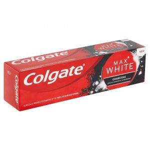COLGATE PASTE DHEMBESH MAX WHITE CHARCOAL 75ML
