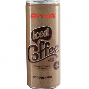 AMA ICED COFFEE CAPPUCCINO CAN 0.25L