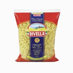 DIVELLA MAKARONA CHIFFERINI LISCI NO48 500GR