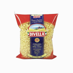 DIVELLA MAKARONA COCCIOLINI NO59 500GR