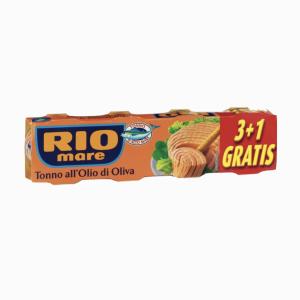 RIO MARE TON VAJ ULLIRI 4X80GR