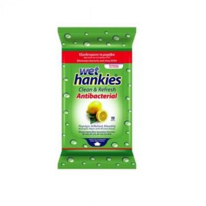 WET HANKIES LETER E LAGUR LEMON FRESH