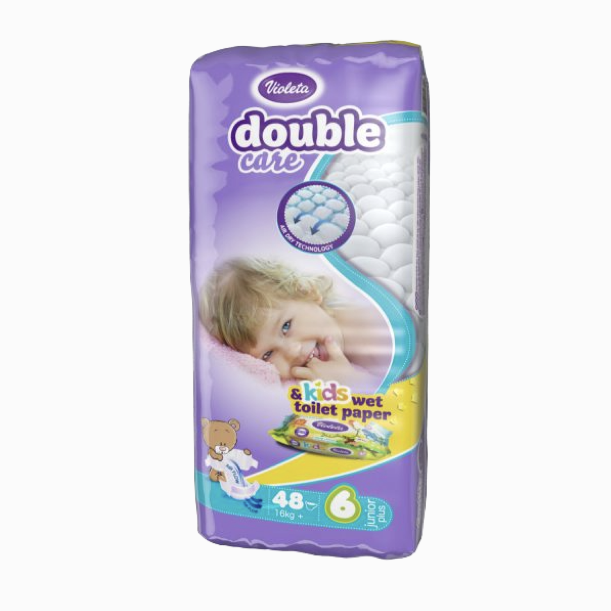 VIOLETA PELENA DOUBLE CARE AIR DRY 48(JUN.PL. 11-25) NR 6 (SM26798)
