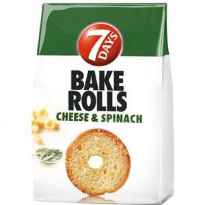 BAKE ROLLS ME SPINAQ 80GR
