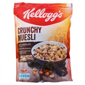 KELLOGG'S CRUNCHY MUESLI CHOCO 380 GR