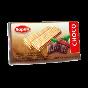 NAPOLI CHOCO WAFER BRICKS 120GR