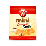 7 DAYS MINI CROISANT DOUBLE CHOCO&VANILJE 60GR