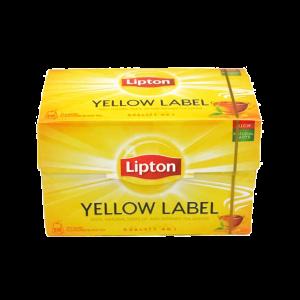 LIPTON YELLOW LABEL 20 BUSTINA