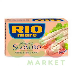 RIO MARE FILETO SGOMBRO 125 GR