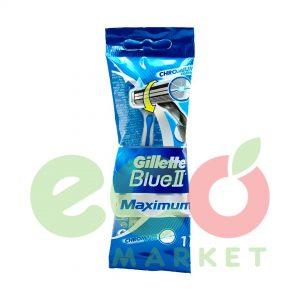 GILLETTE BRISQE RROJE BLUE2 MAX SENSITIVE B1