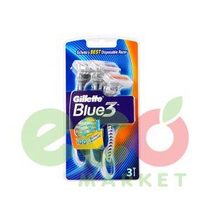GILLETTE BRISQE RROJE BLUE3 B3