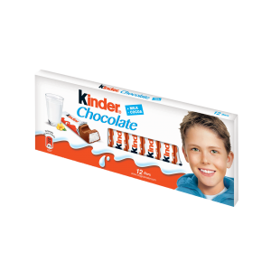 KINDER CHOCOLATE T12