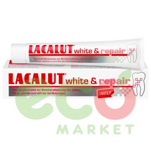 LACALUT PASTE DHEMBESH-WHITE&REPAIR 75ML