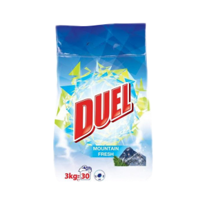 DUEL DETERGJENT PLUHUR COMPACT MOUNTAIN FRESH 3KG