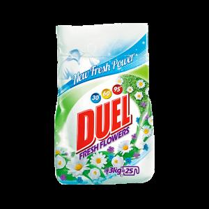 DUEL DETERGJENT PLUHUR  FRESH FLOWERS 3KG