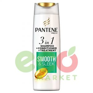 PANTENE SHAMPO 3IN1 SMOOTH&SLEEK 360ML