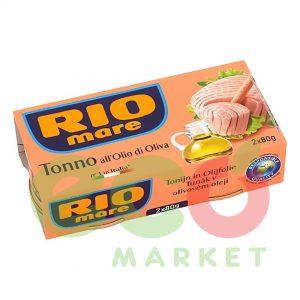 RIO MARE TON VAJ ULLIRI 2x80GR