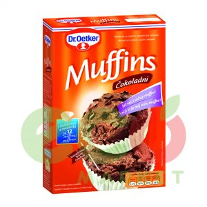 DR.OETKER MUFFINS ME COKOLLATE 360GR