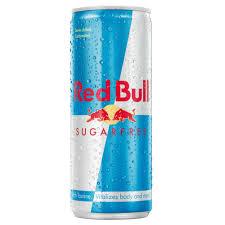 RED BULL SUGARFREE CAN 0.25L