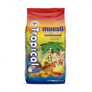 VITALIA MUESLI TROPICAL 35% FRUTA 750GR