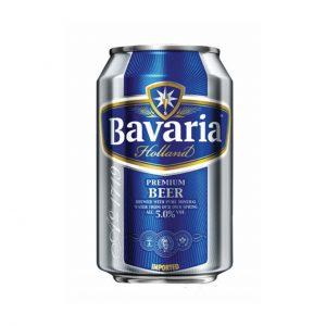 BAVARIA BIRRE CAN 0.33L