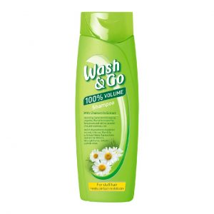 WASH&GO SHAMPO CHAMOMILE 400ML